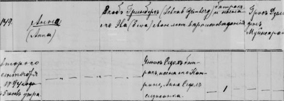 Akerfelds, Anna - Baptism